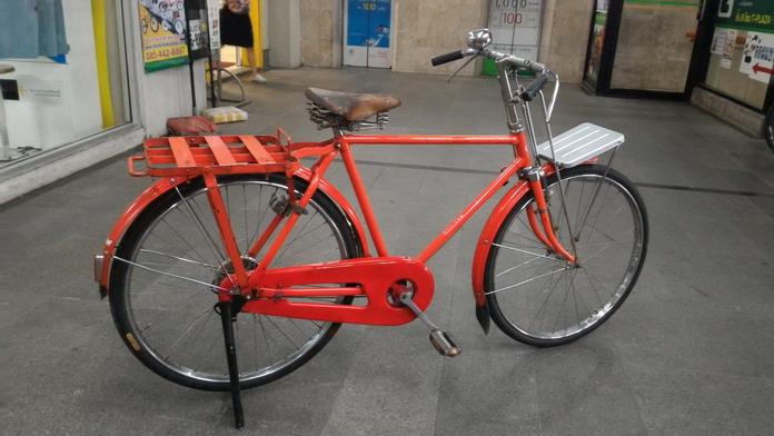 จักรยานไปรษณีย์ญี่ปุ่น ทรงผู้ชาย คานตรง
