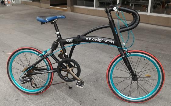 จักรยยานเสือหมอบมินิ พับได้ จากญี่ปุ่น  an design