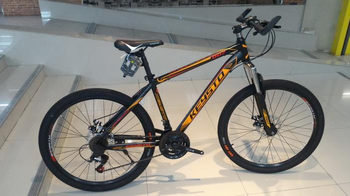 จักรยานเสือภูเขา ราคาประหยัด KEYSTO 007