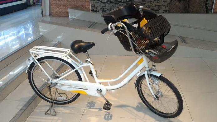 จักรยานแม่และเด็ก Mamafreจากญี่ปุ่น สภาพดีมาก