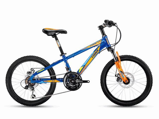 จักรยานเสือภูเขาเด็ก TRINX JUNIOR4.0  20 นิ้ว เกียร์ 21 สปีด เฟรมอลูมิเนียม