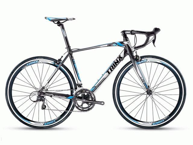 จักรยานเสือหมอบ TRINX  SWIFT1.0  700C เกียร์ 14 สปีด เฟรมอลูมิเนียมน้ำหนัก 11 กก.