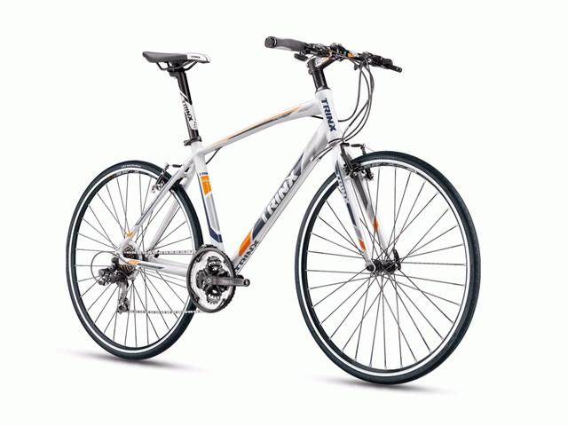 จักรยานไฮบริด TRINX  FREE1.0  700C  เกียร์ 21 สปีด   เฟรมอลูมิเนียม15 กก.