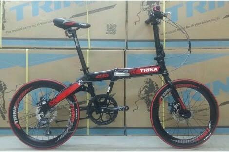 จักรยานพับ TRINX WARWOLF 4.0ล้อ 20 นี้ว  เกียร์ Claris 8 Sp