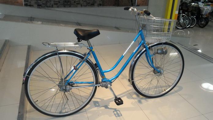 จักรยานแม่บ้านญี่ปุ่น ระบบเพลาแทนโซ่ Maruishi