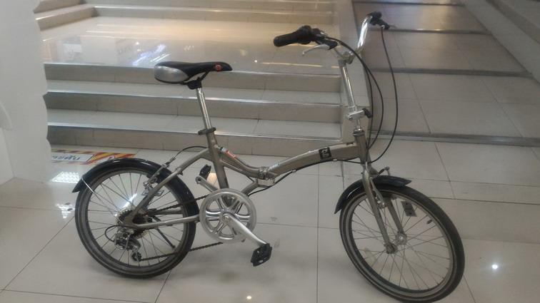 จักรยานพับได้ คุณภาพดี จากญี่ปุ่น ยี่ห้อ Glamorous