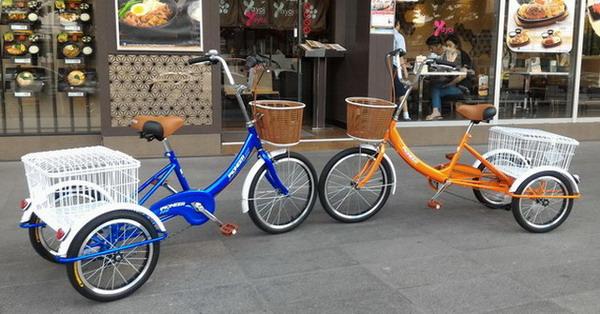จักรยานสามล้อ PIONEER เกียร์ 6 สปีด ล้อหน้า 20