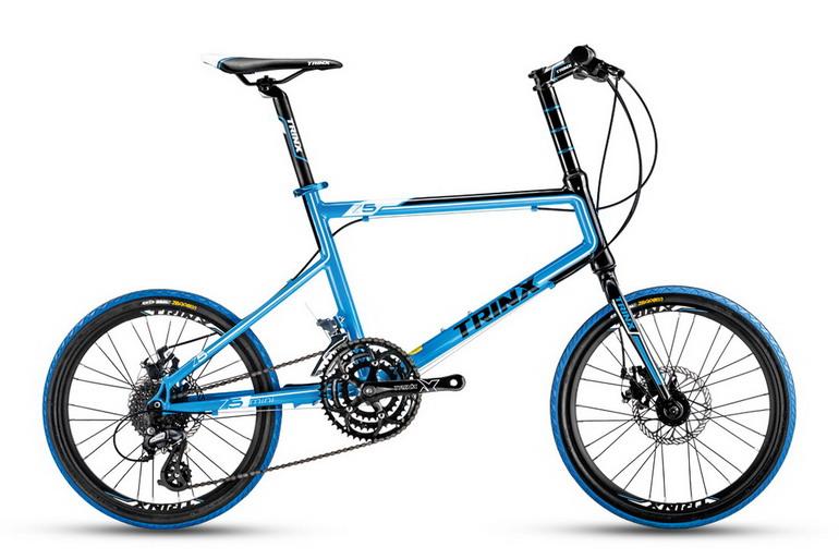 จักรยานมินิ TrinX Z5 24 สปีด  เฟรมอลู ล้อ 20 นิ้ว  New 2017
