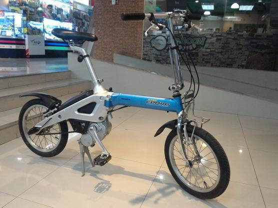 จักรยาน ไฟฟ้าพับได้ HONDA Step Compo