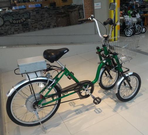 จักรยาน สามล้อไฟฟ้าแบบสองล้อหน้า  Trike