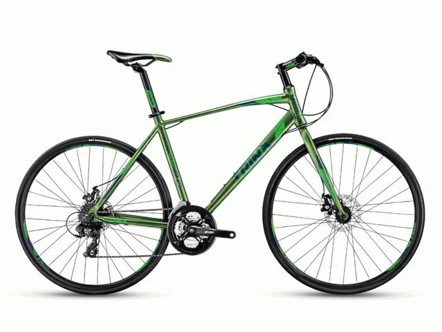 จักรยานไฮบริด TRINX FREE2.0เกียร์ 24 สปีด 700C เฟรมอลูมิเนียม  15กก.
