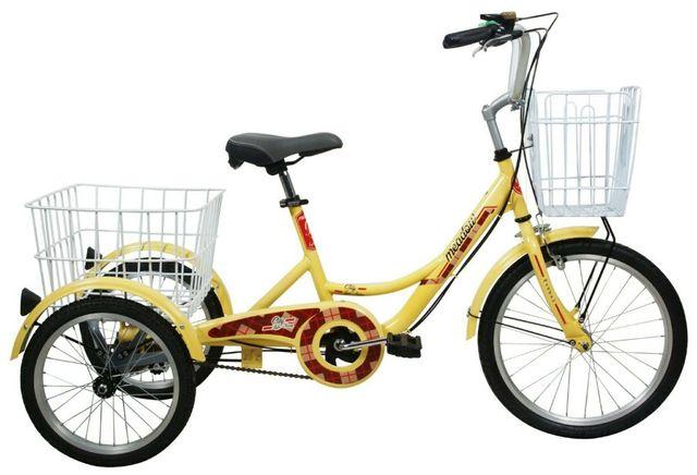 จักรยาน สามล้อยี่ห้อ Meadow ปรับสวิง ปรับเอว  ล้อหน้า 20 หลัง 16