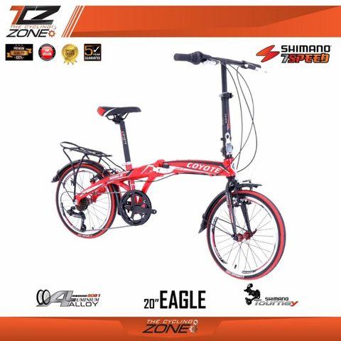 จักรยานพับได้ COYOTE รุ่น EAGLE วงล้อ 20 นิ้ว