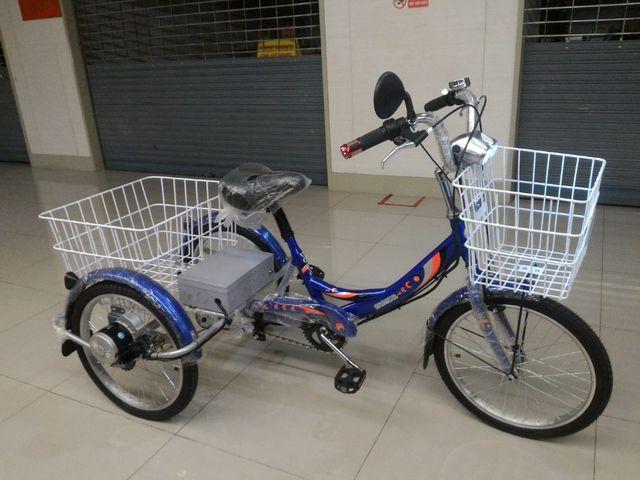 จักรยาน 3ล้อไฟฟ้า ประกอบใหม่ Panther 20 นี้ว บิดได้ปั่นก็ดี