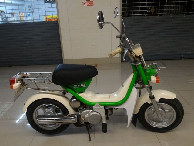 YAMAHA Malic  เครื่องยนต์ 50 cc เกียร์ออโต้