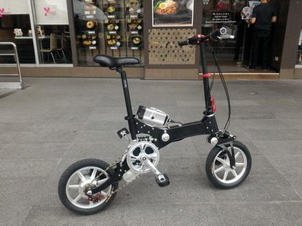 จักรยานไฟฟ้า พับได้ ดีไซน์สวย กะทัดรัด ระบบไฮบริด Royal deer