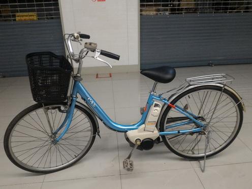 จักรยานแม่บ้านญี่ปุ่น ไฟฟ้า Yamaha Pas