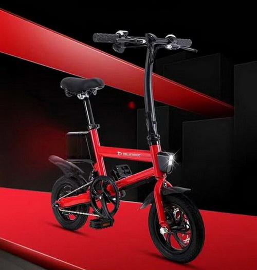 จักรยานไฟฟ้า วงล้อ 12 นี้ว กะทัดรัด พกพาสะดวก 36V 250W แบตลิเธี่ยม