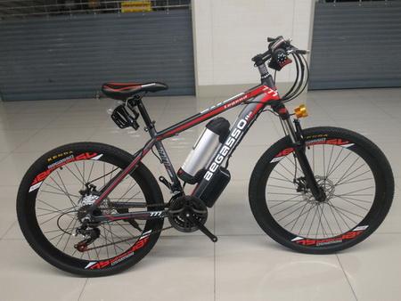 จักรยาน เสือภูเขา ไฟฟ้า รุ่นล่ามาใหม่ บิดได้ ปั่นได้ แบตลิเธี่ยม BEGASSO 777