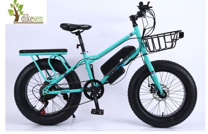 จักรยานไฟฟ้า ล้อโต 20นี้ว GUN FAT BIKE