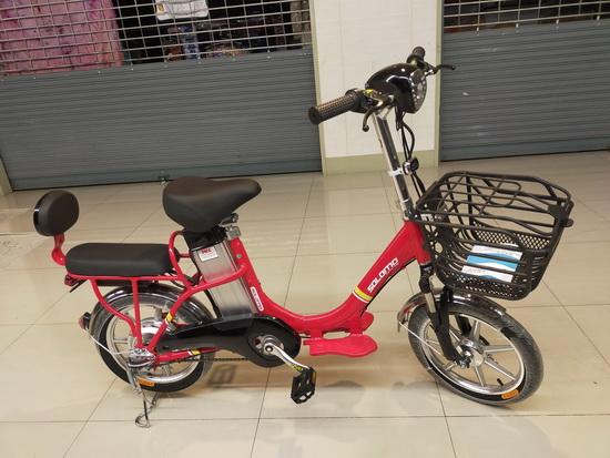 จักรยานไฟฟ้า คุณภาพดี ดีไซน์สวย  3 ระบบในคันเดียว solomo