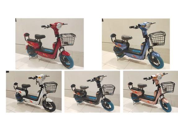 มอเตอร์ไซค์ไฟฟ้า/จักรยาน รุ่น ล่ามาใหม่  มีไฟเลี้ยว ctr2
