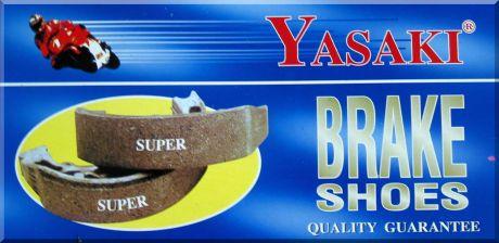 ผ้าเบรค (ก้ามเบรค) YASAKI รุ่น SUPER ( กล่องละ 5 คู่)