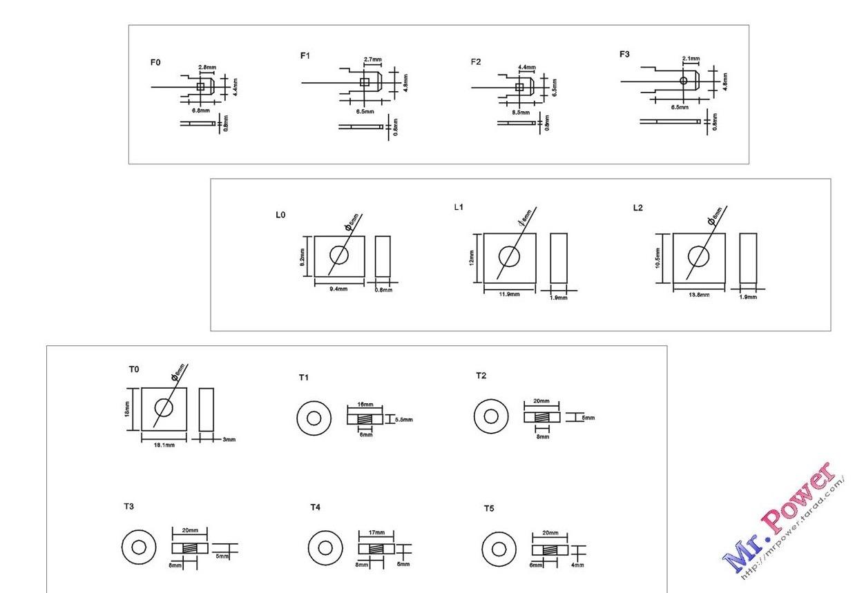 แบตเตอรี่ Poweroad : PR7.2-12 (12V 7.2Ah) 1