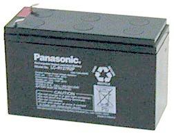 แบตเตอรี่ Panasonic : LC-V127R2NA (12V 7.2Ah)