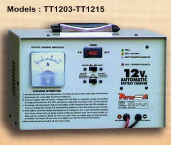 Fully Automatic Battery Charger :TT1206