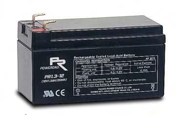แบตเตอรี่ Poweroad : PR1.3-12 (12V 1.3Ah)