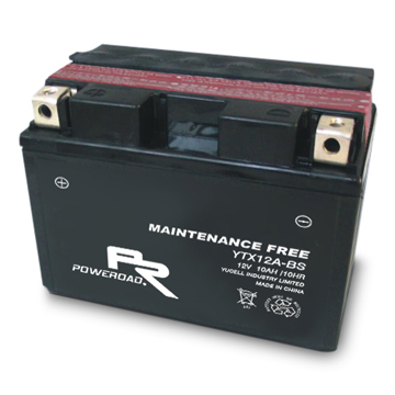 YTZ12 -BS : Maintenance-free Motorcycle Battery
