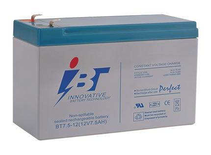 แบตเตอรี่ I.B.T : BT7.2-12 (12V 7.2Ah)