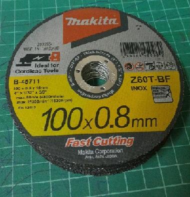 ใบตัด 100x0.8 INOX
