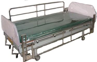 เตียงคนไข้แบบปรับระดับ 2 ไกร์  พื้นไม้