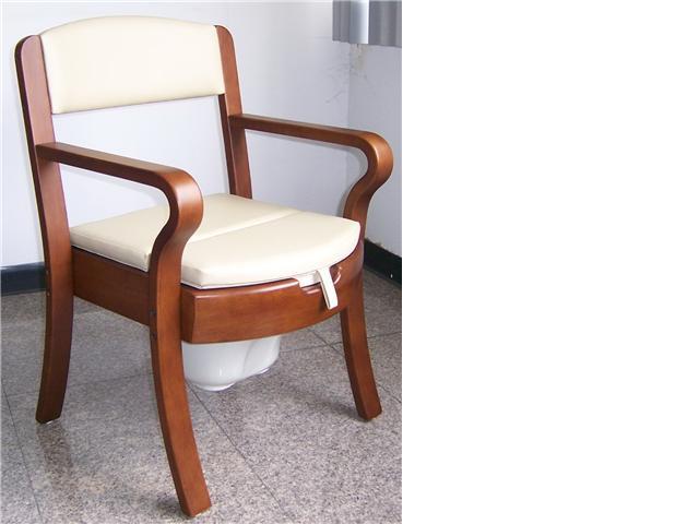 เก้าอี้สุขภัณฑ์จากไม้จริง