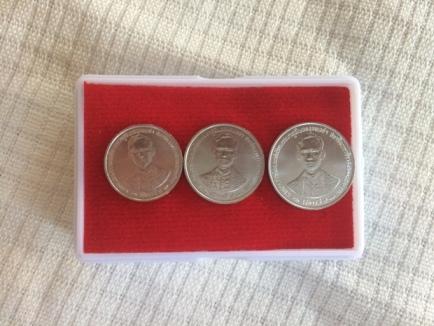 เหรียญ1,5,10สตางค์ กาญจนาภิเษก