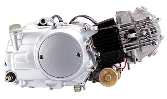 เครื่อง LIFAN 110 cc. คลัทช์มือ สตาร์ทมือ ไดร์ล่าง