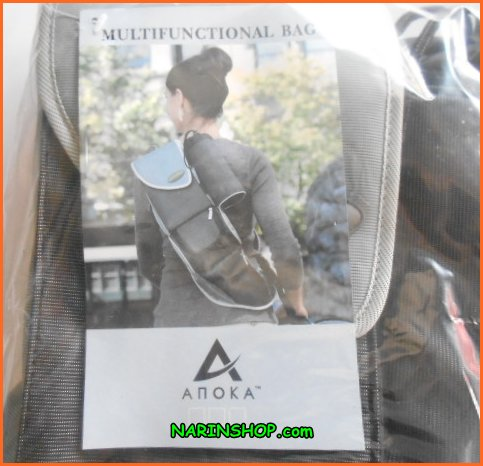 กระเป๋าเป้ สะพายหลัง ANOKE มีสีเขียว,ฟ้า