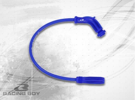 สายหัวเทียน Silicone Ignition V1 ยี่ห้อ Racing Boy มีสีน้ำเงิน,แดง