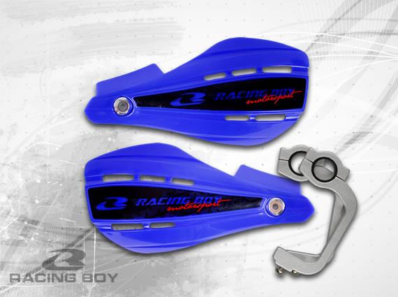 การ์ดแฮนด์ Racing Boy เวอร์ชั่น 1 ขายึดอลูมิเนียม/มีสีน้ำเงิน
