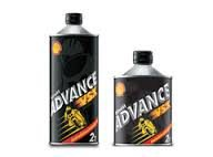 น้ำมัน 2T ยี่ห้อ SHELL รุ่น ADVANCE VSX ขนาด 0.5 ลิตร