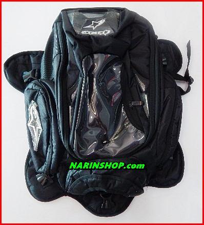 กระเป๋าแม่เหล็กติดถังน้ำมัน สีดำ ALPINESTARS  ใบใหญ่