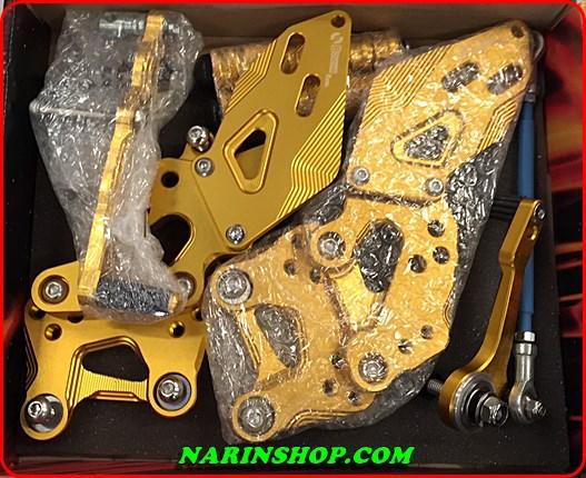 เกียร์โยงปรับระดับ อลูมิเนียม Yamaha R3 มีสีทอง,เงิน,ไททาเนียม งาน Boushi