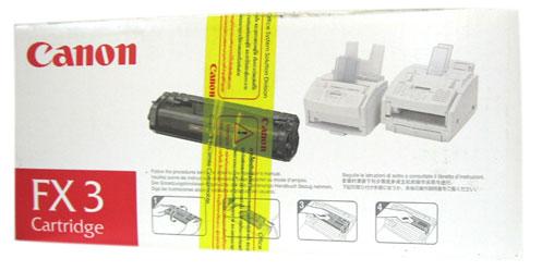 หมึกเลเซอร์เครื่องโทรสาร CANON FX-3 cartridge ของแท้