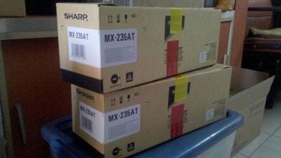 ชุดหมึกเครื่องถ่ายเอกสาร SHARP MX-235AT เครื่องรุ่น AR-5618/5620/5623D
