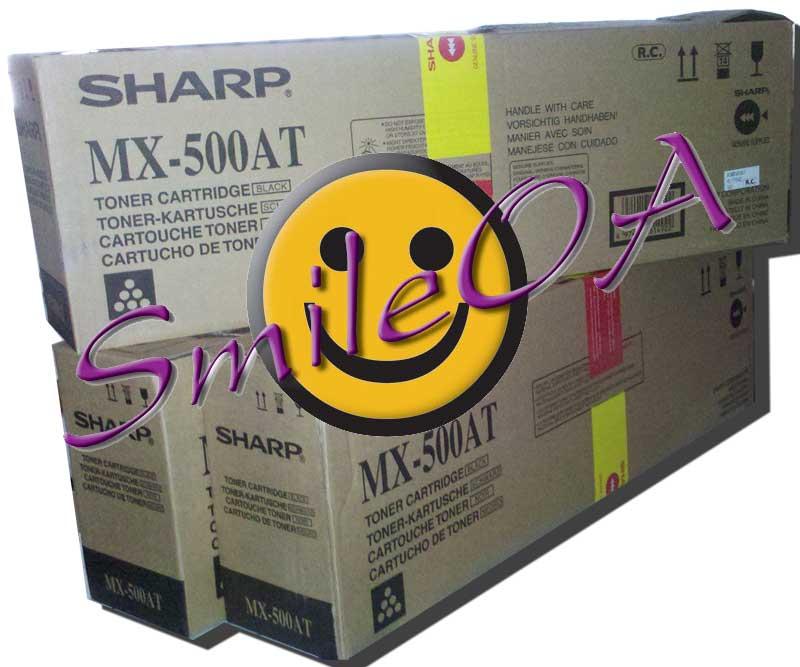 หมึกเครื่องถ่ายเอกสาร SHARP MX-500AT เครื่องรุ่น MX-453N MX-453U