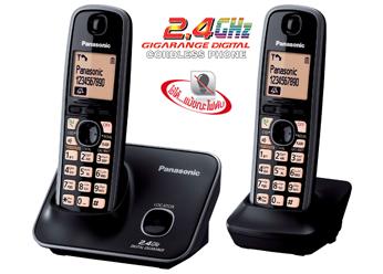 โทรศัพท์ไร้สาย PANASONIC KX-TG3712BX