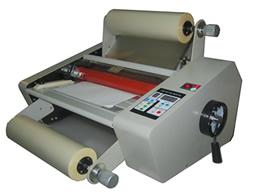 เครื่องเคลือบ UV FM-380 เคลือบแบบม้วน เคลือบปก นามบัตร 2 หน้าพร้อมกันได้