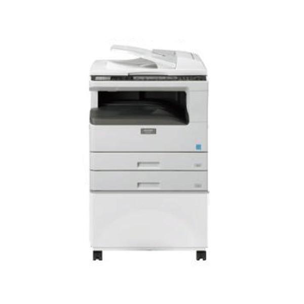 เครื่องถ่ายเอกสาร SHARP AR-5620N อุปกรณ์เสริมครบชุด Network Print scan กลับ หน้า-หลัง